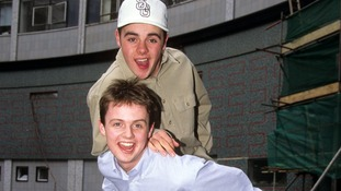 A youthful PJ & Duncan back in 1994.