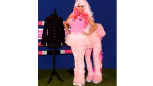 Katie Price during a photo call to mark the 5th birthday of KP Equestrian, her equestrian clothing company