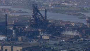Tata's Port Talbot steelworks