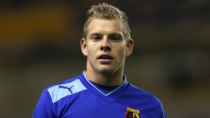Watford&#x27;s Matej Vydra during the npower Football League Championship match at Wolverhampton