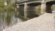 The River Taff, in Llandaff, Cardiff