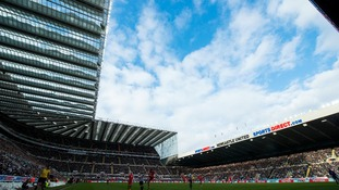General view of St James' Park, Newcastle