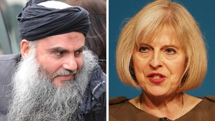 Radical preacher Abu Qatada and Home Secretary Theresa May