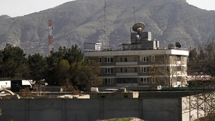 The British Embassy in Kabul