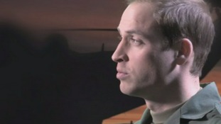 Prince William speaking in the BBC documentary Helicopter Rescue