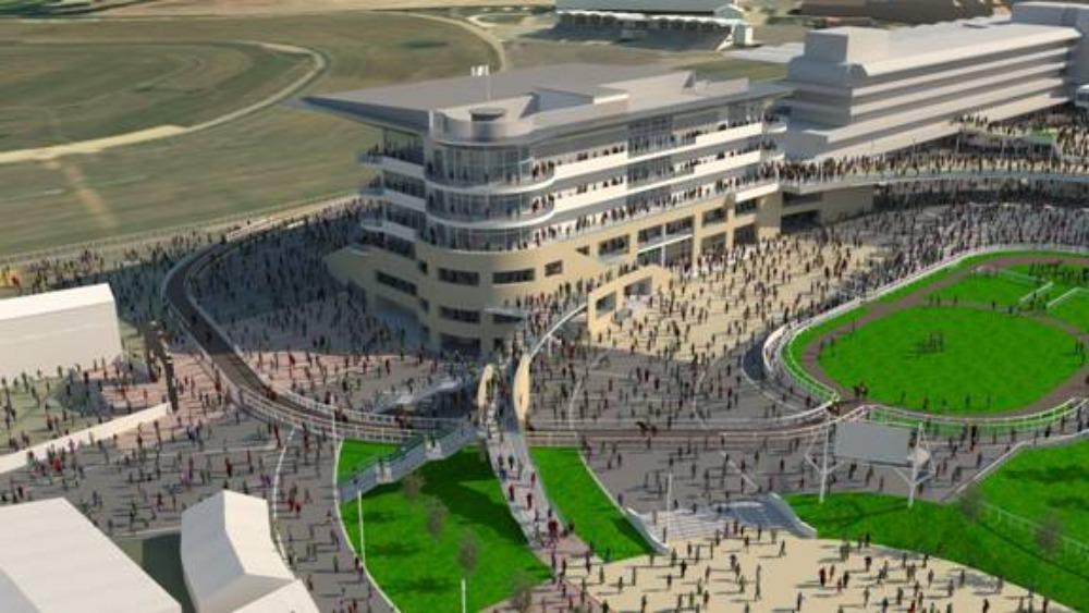 Grandstand Designs : Multi million pound revamp for cheltenham racecourse