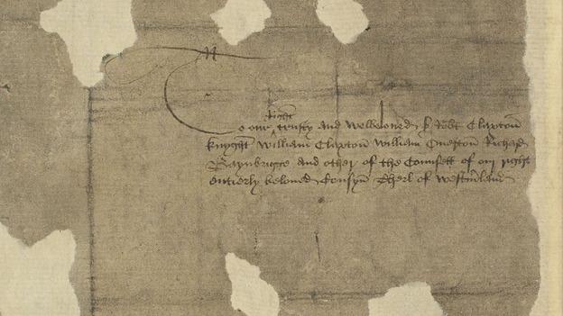 The document that bears the former King&#x27;s signature 