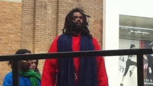 Actor Nathan Obokoh plays Jesus