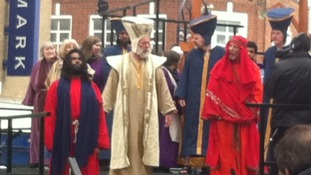 King Herod faces Jesus