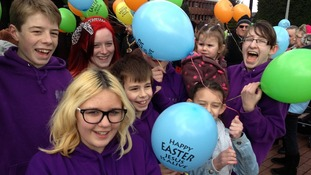 Hundreds gather in Burton-upon-Trent for the Good Friday march