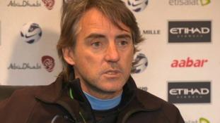 Mancini unhappy with Belgium over Kompany