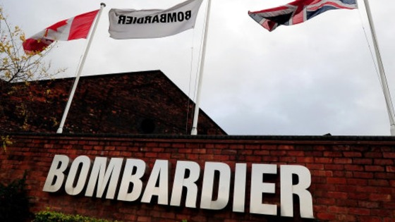 Bombardier in Derby