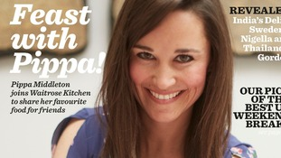 Pippa Middleton's Friday Night Feast in Waitrose Kitchen