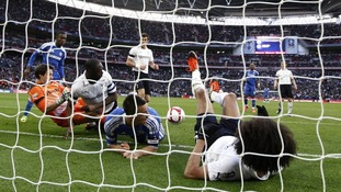 The goal that wasn't:Juan Mata is awarded the second goal at Wembley