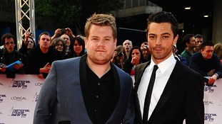 James Corden starred alongside Dominic Cooper in the History Boys