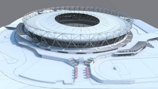 The post-conversion Olympic Stadium will boast the largest spanning tensile roof in the world