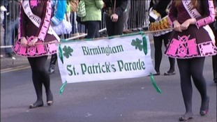 Roads closed on St Patrick's Day