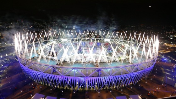 The stadium itself played host to, arguably, the best night of the whole Olympics.