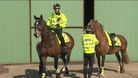 Norfolk Police patrolling rural areas on horseback