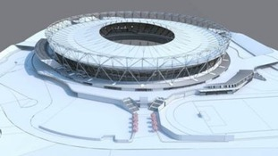 Post-conversion Olympic Stadium will boast largest spanning tensile roof in the world.