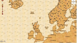 Google Maps' new piratical look
