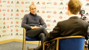 Paolo Di Canio in interview at Sunderland's Stadium of Light