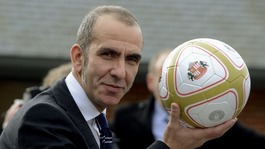 Paolo Di Canio speaks to the media after being confirmed as Sunderland boss
