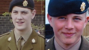 The families of Lee Bonsall and Ashley Clarkson want more to be done to help soldiers cope with life after the frontline.