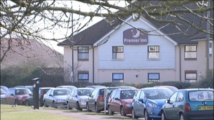 The hotel where the Philpott's were put under surveillance after the fire