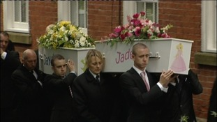 Coffins carried at the children's funeral's