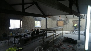 Narberth Museum in January 2012 before work began