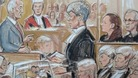 Mick and Mairad Philpott and Paul Mosley in court