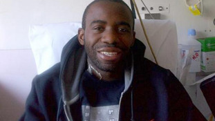 Twitter picture posted on Fabrice Muamba's Twitter page