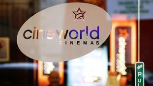"An exterior view of a Cineworld cinema in Piccadilly, central London, the chain uses ""zero hours"" contracts"
