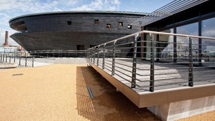 The new museum built to house Tudor warship the Mary Rose
