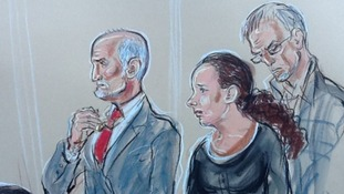 Mick Philpott kisses a cross around his neck. One for each of his six dead children as the verdicts are read out