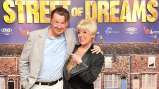 Kevin Kennedy and Julie Goodyear