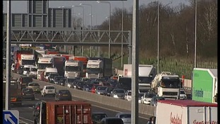 Investigations continue into the cause of crash which blocked the southbound carriageway of the M25 in Essex