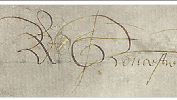 King Richard III&#x27;s signature