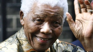 Nelson Mandela was admitted to hospital on March 27