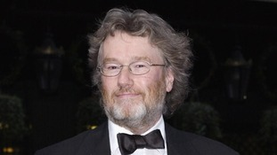 Author Iain Banks pictured at the British Book Awards in 2004.