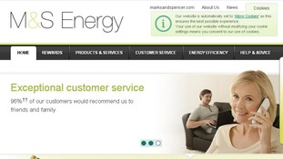 SSE was also operating under the brand name M&S Energy