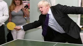 London Mayor Boris Johnson  had better get practising