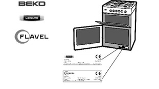 The Beko, Leisure and Flavel logos and where they can be found