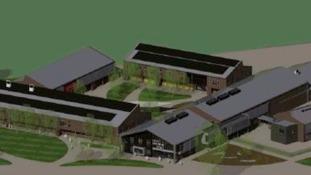 Original plans for the development
