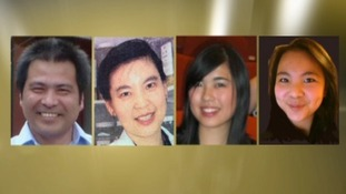 The Ding family from Northampton murdered in April last year