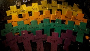 Adam Lanza shot dead 20 pupils and six staff members at Sandy Hook Elementary Scho