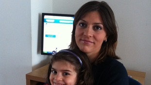 Ezgi Kivilcim and her daughter Almeira are hoping for their first choice school