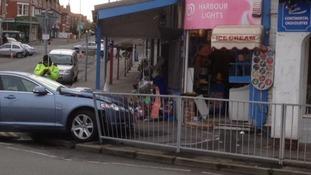 Rhos-on-Sea crash