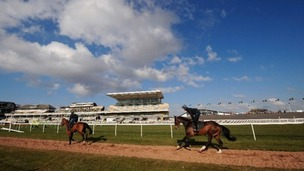 John Smith&#x27;s Grand National Meeting at Aintree Racecourse in Sefton.